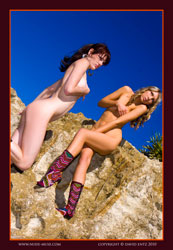 amber and layla mola boots