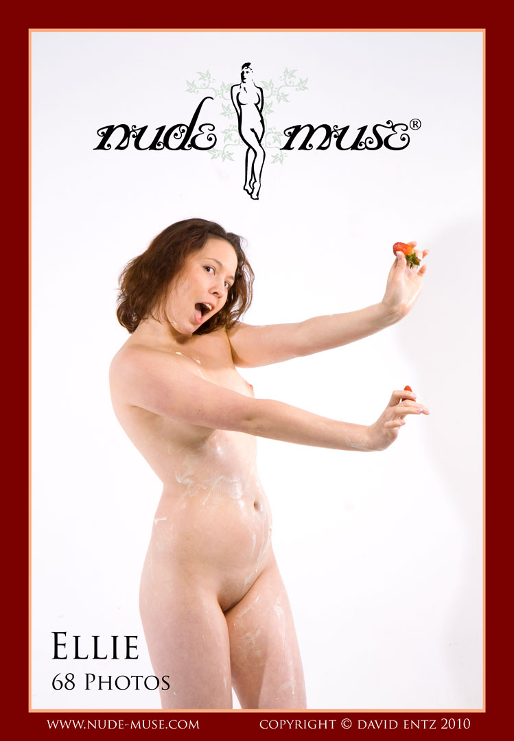 ellie strawberries and cream nude muse magazine nude photography