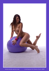 layla purple ball