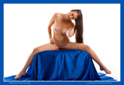 maddy blue satin video