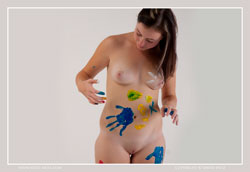 taya body paint video