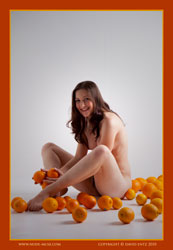 angela oranges and the nude