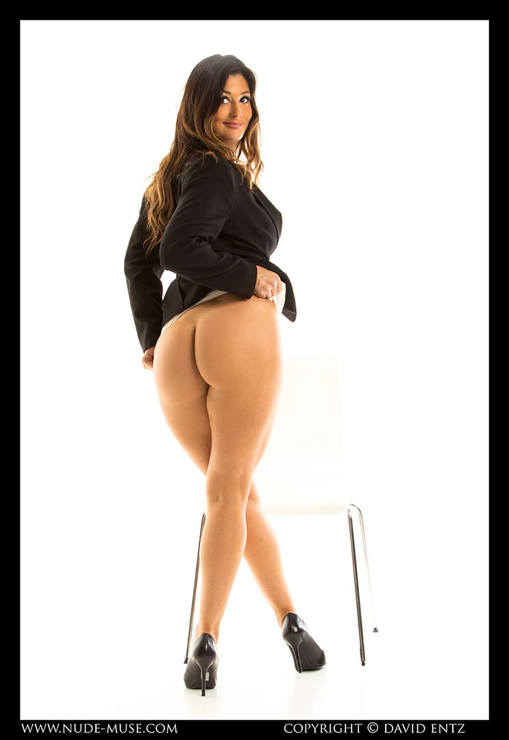 naked women in business suits