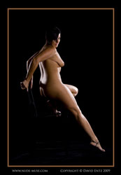 harmony nude on chair