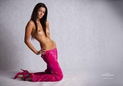 sarane pink tracksuit